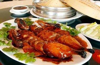 Món ăn Vịt quay Bắc Kinh nổi tiếng